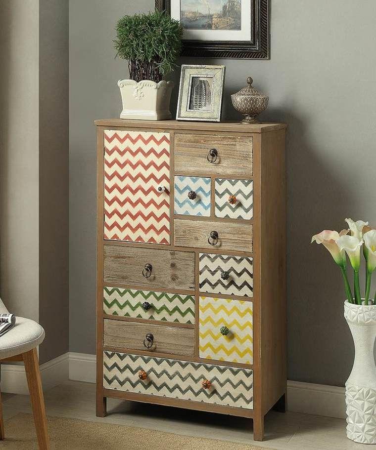 Relooker un meuble en bois  idées et astuces Chambre parental