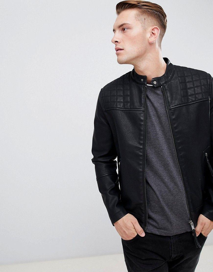 New Look Schwarze Bikerjacke Schwarz Jetzt Bestellen Unter Https Mode Ladendirekt De Herren Bekleidung Jacken Bikerjacken Jacken Bekleidung Bikerjacke
