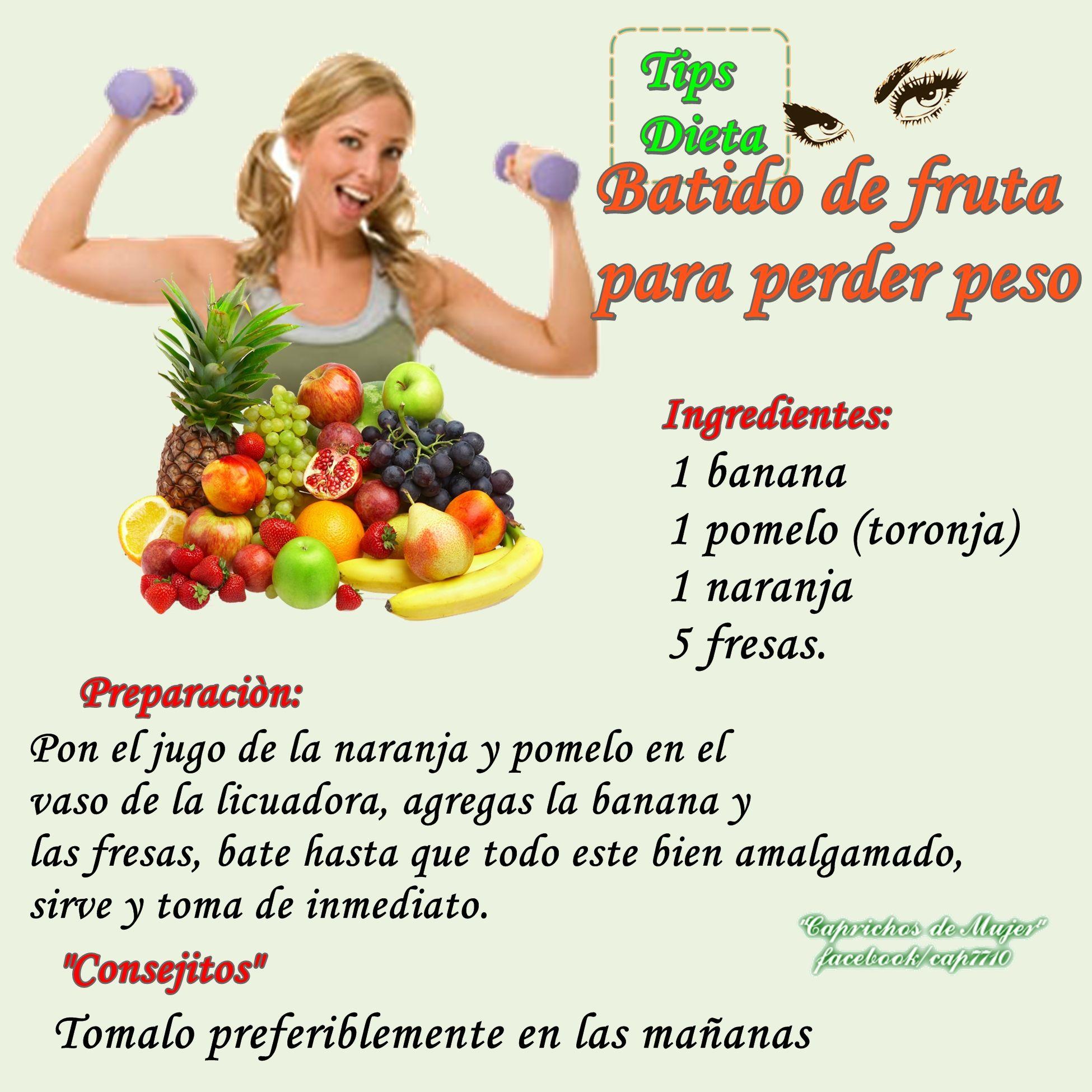 Perder peso con sabor