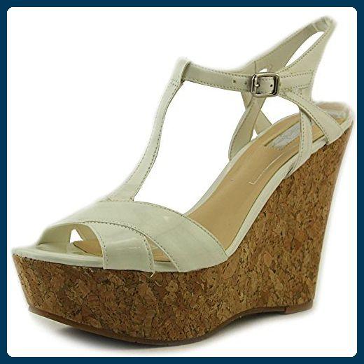 bcb077572c3dc Jessica Simpson Ellrose Damen US 9 Weiß Keilabsätze Sandale EU 39 ...