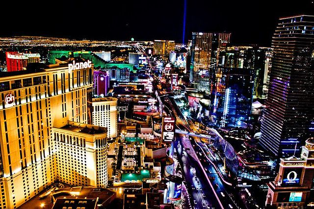 Las Vegas Skyline Las Vegas Nevada Vegas Skyline Beautiful