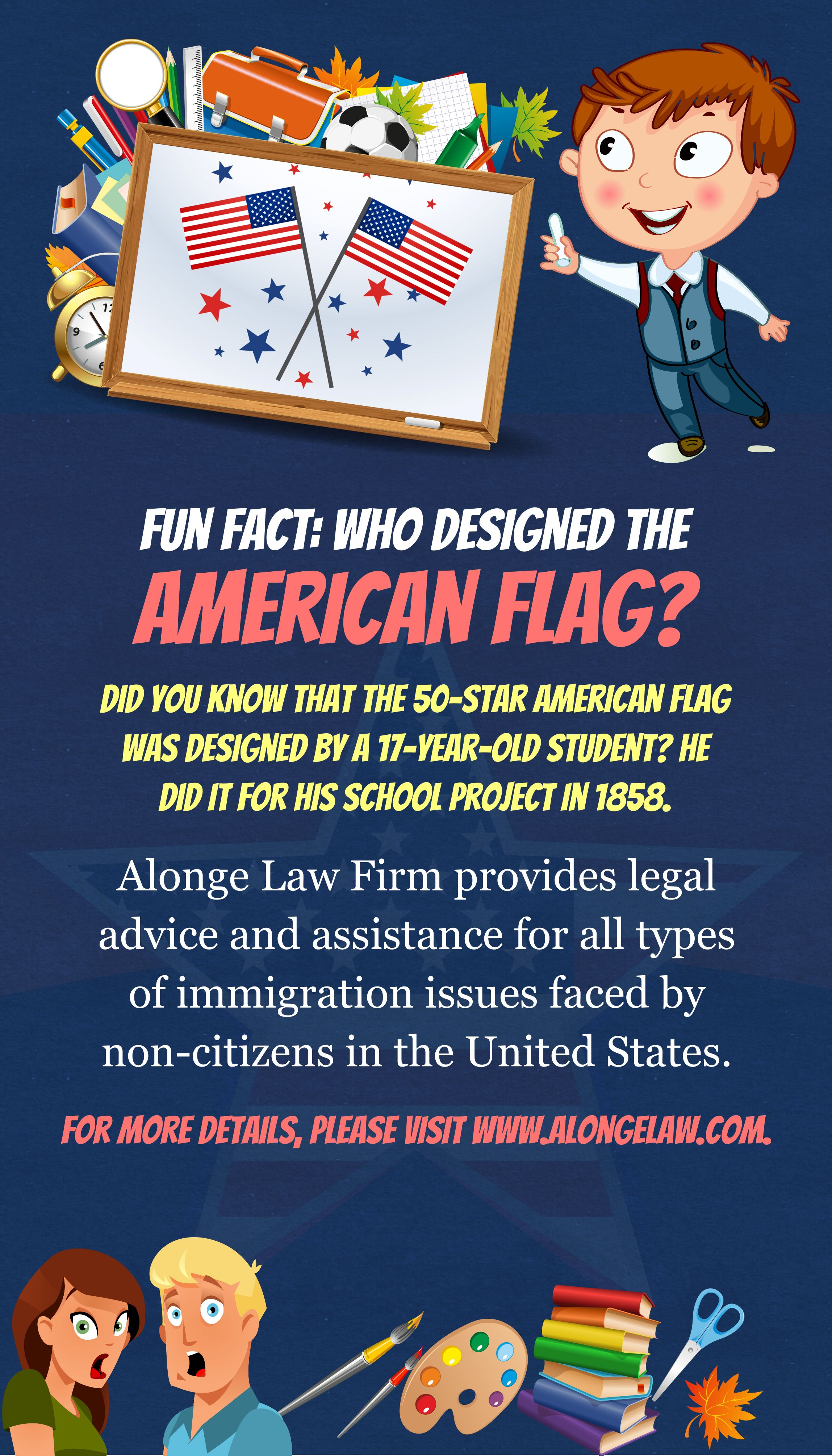 Fun Fact Who Designed The American Flag