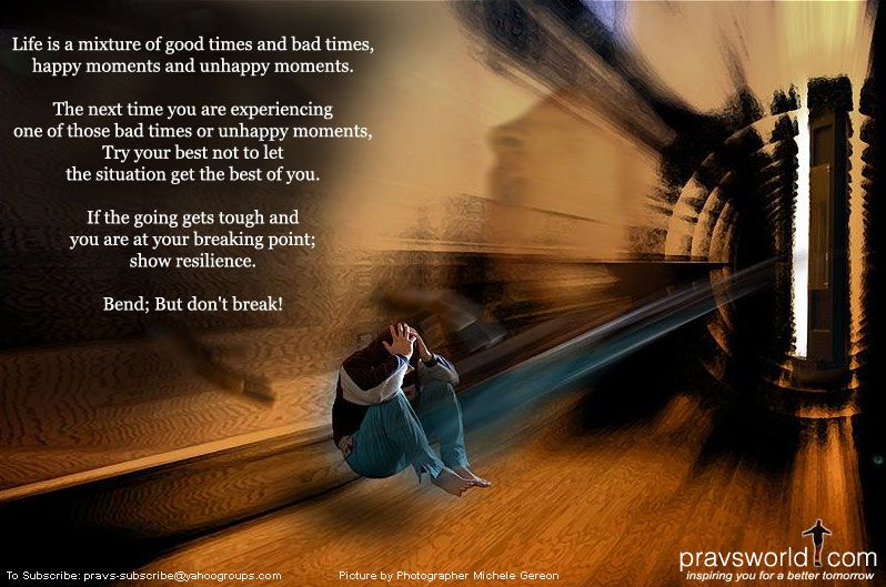 Don't break... Happy moments, Bad timing, In this moment