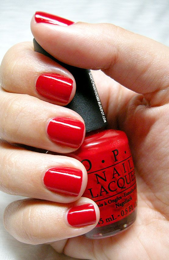 Opi White Gel Nail Polish: Slightly Nail Polished: Swatch & Review: OPI- The Thrill
