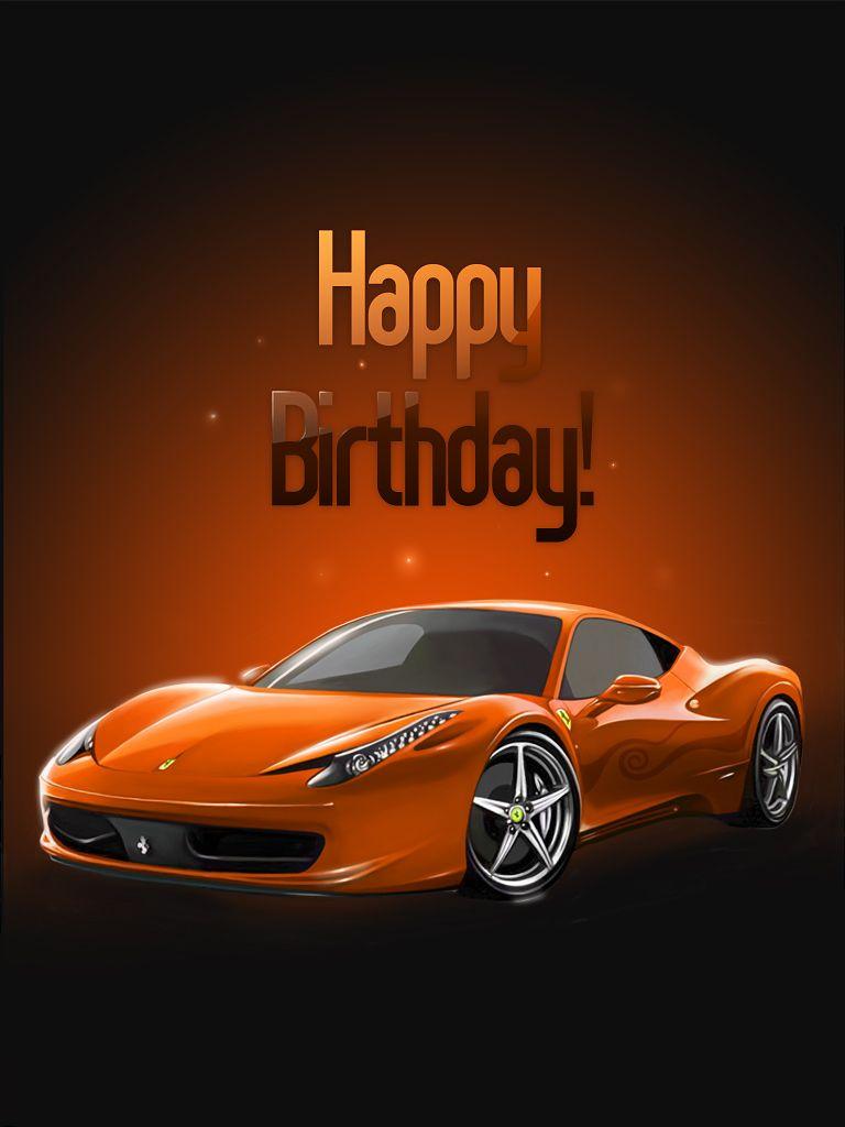 Ferrari free birthday cards happy birthday man