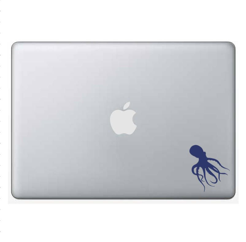 Octopus Decal/Sticker - custom, vinyl, outdoor vinyl, car decal, computer decal, permanent, octopi, sea life, ocean animal, marine life by WizardatNight on Etsy