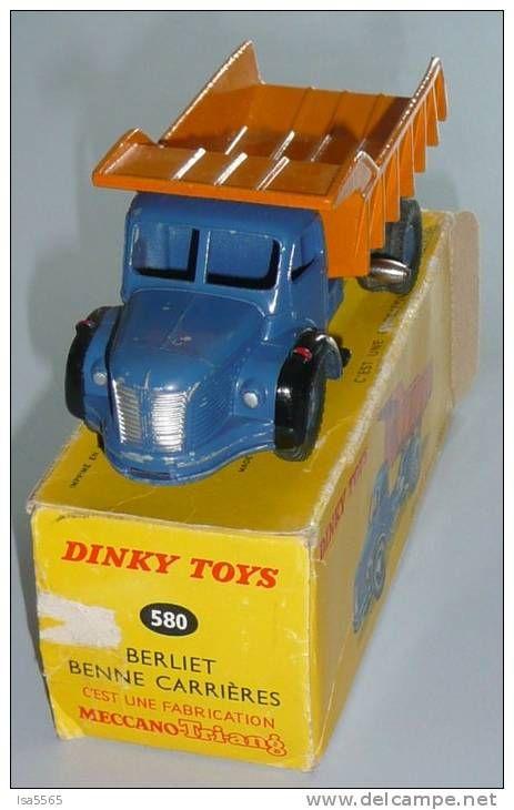 580 berliet benne petites voitures et jout jouets vintage berliet et marque de jouet. Black Bedroom Furniture Sets. Home Design Ideas