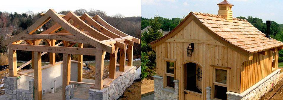 Lancaster County Timber Frames, Inc. | log homes | Pinterest ...