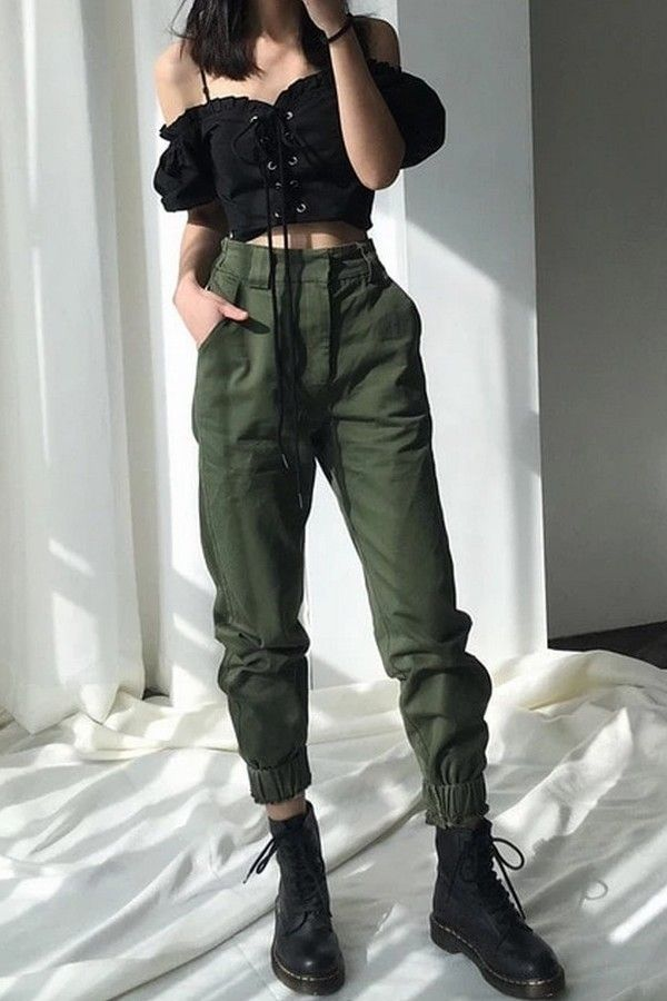 High waist pants  – Fashion