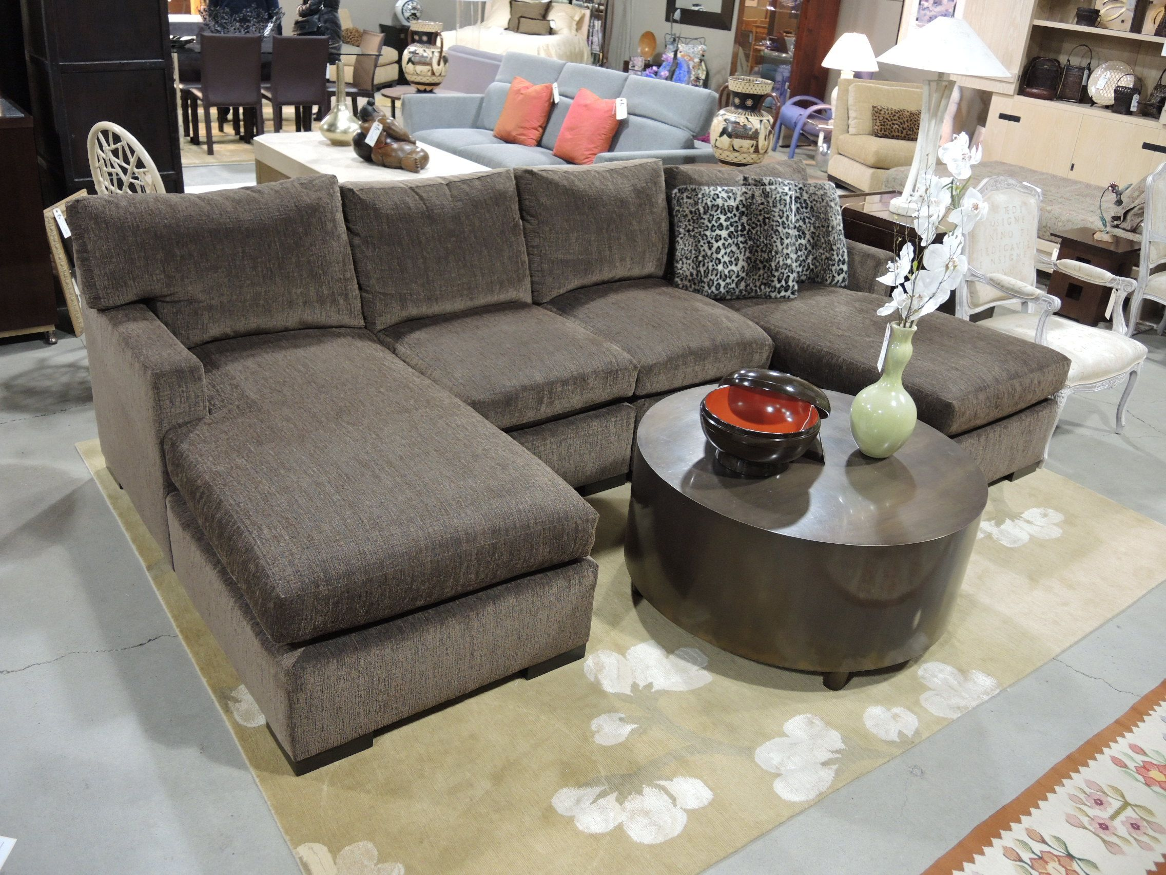 Delightful Inspiring Double Chaise Sectional Sofa 81 About Remodel Rooms To Go Sectional  Sofa With Double Chaise
