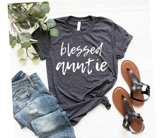 Pregnancy Announcement Shirt, Promoted to Aunt, Aunt Shirt, Aunt to Be, Tee Auntie Shirt, Blessed Au