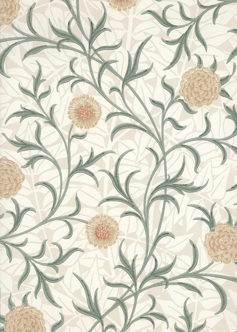 Wallpaper William Morris (5qm)