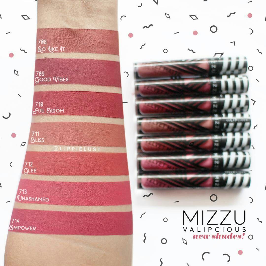 Mizzu Lip Cream New Colour Indonesian Lipstick Product In 2018 Purbasari Matte Shades Velvet