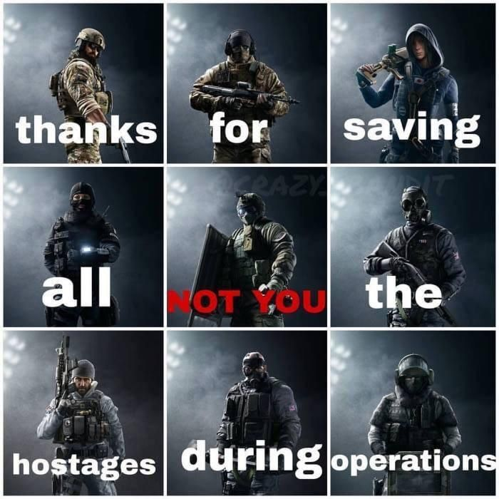 Rainbow Six Siege In A Picture Via R Gaming Rainbow Six Siege