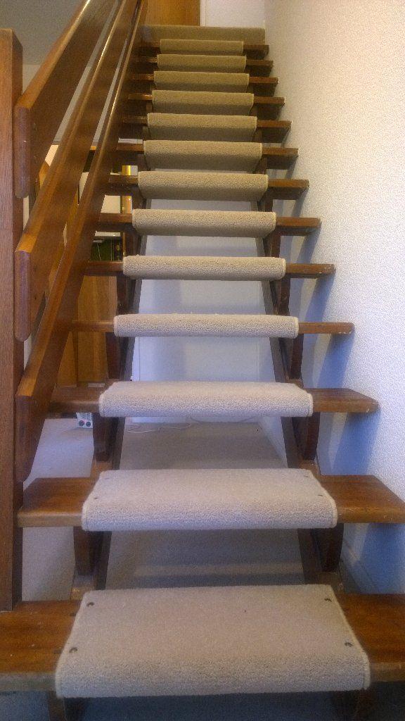 Pin by Inna Gerenshteyn on open riser stairs carpet ...
