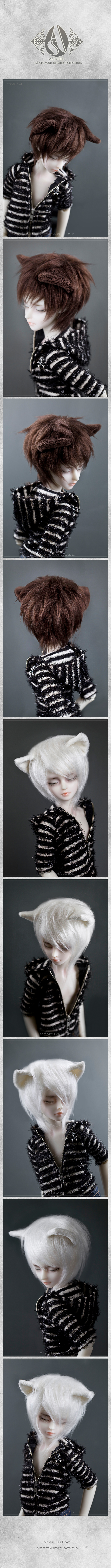 pet wig (for 1/4) - Angell Studio
