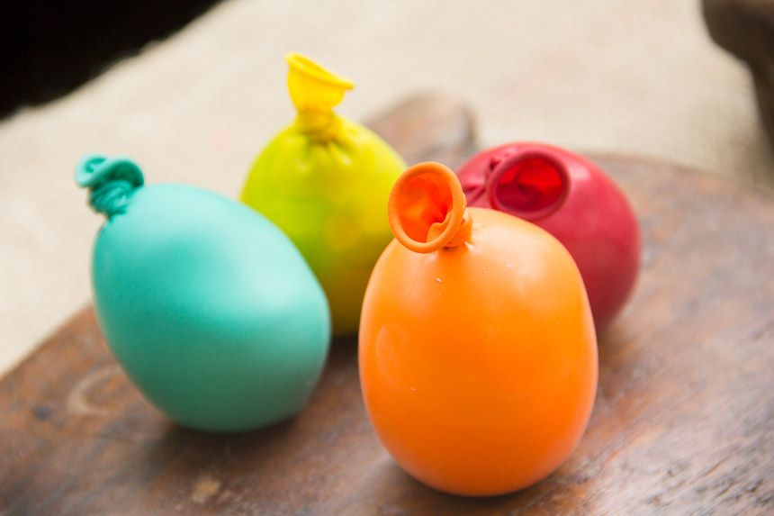 Squishy Stress Balls What You Need Balloons Scissors A