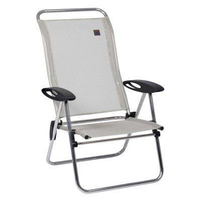 Outdoor Lafuma Low Elips Folding Beach Chair Seigle Gray - LFM2708-2178