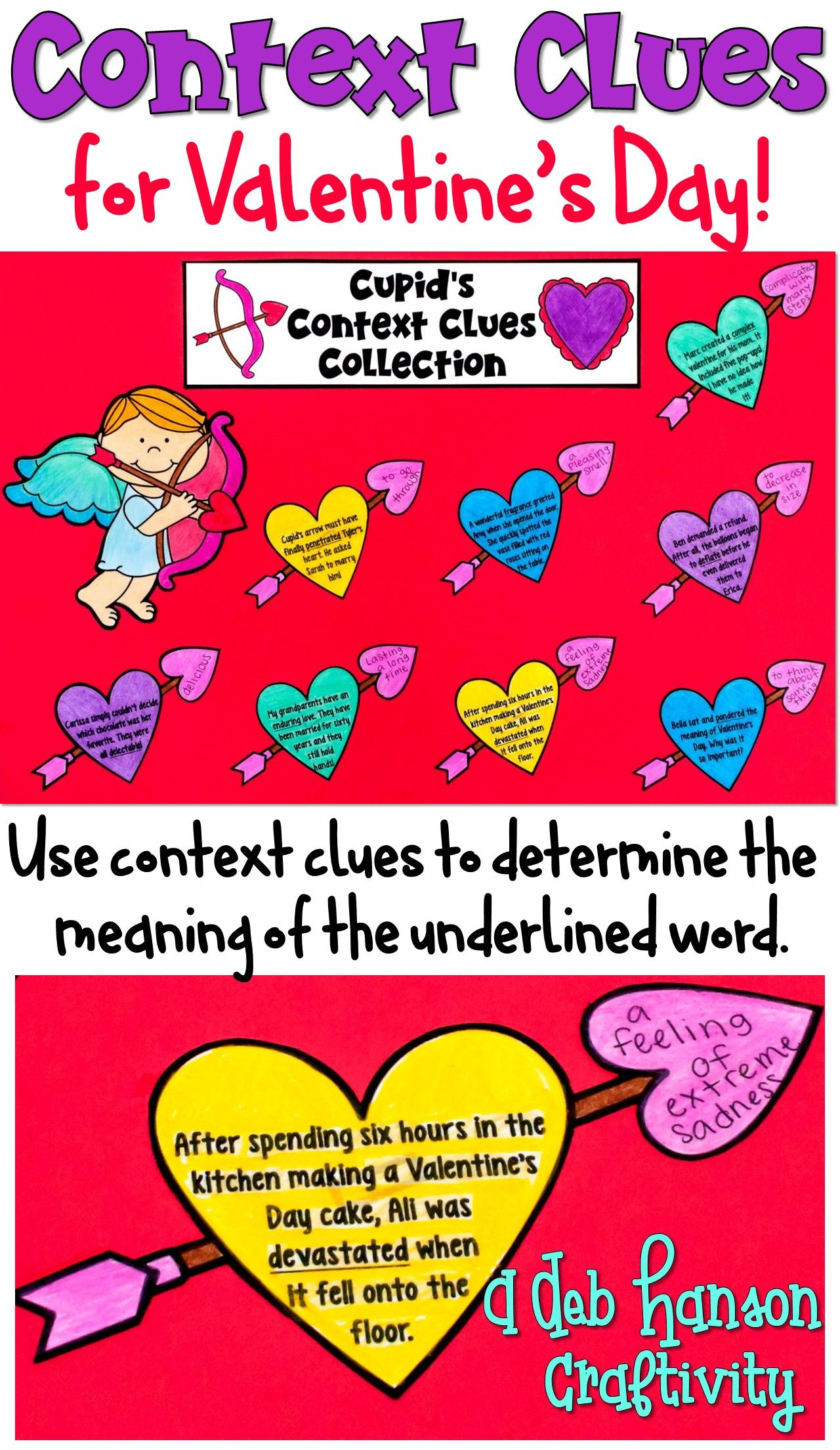 Context Clues Craftivity For Valentine S Day
