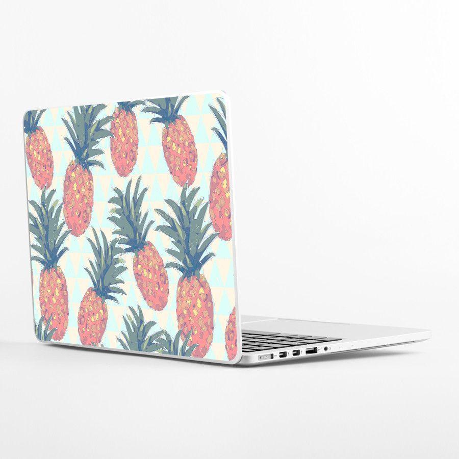 Low Poly Pineapples Laptop Skin