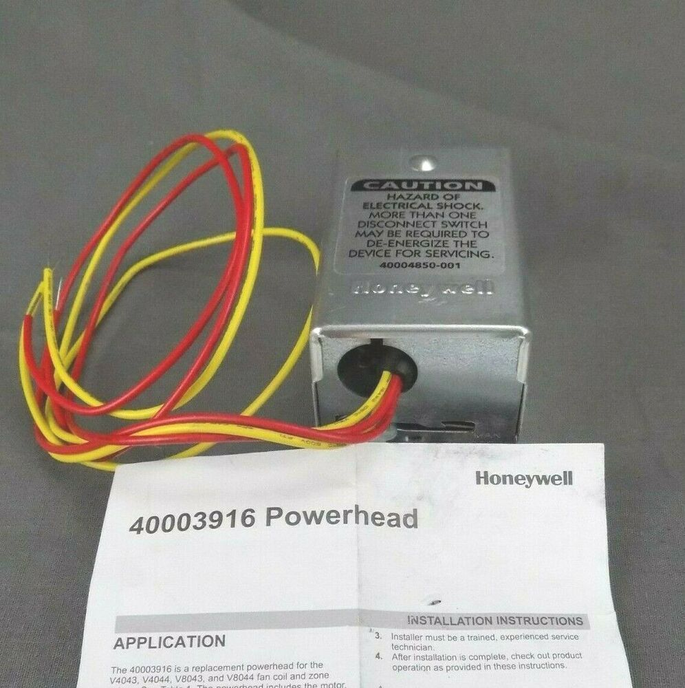 Honeywell 40003916026 24V AC 50/60Hz Replacement Head for