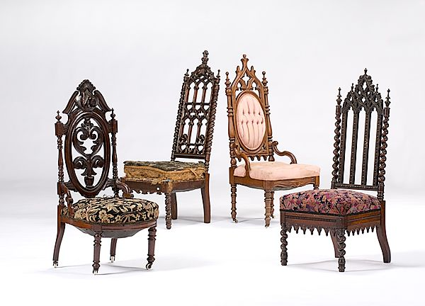 Gothic Revival Side Chairs