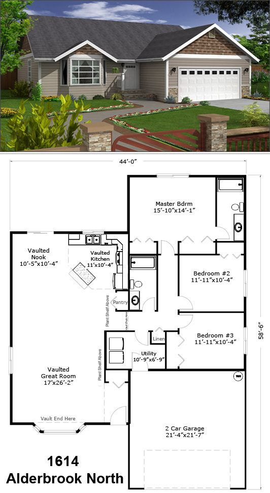 Love The Bay Window I Can See A Window Seat Right There Home Sydney House Floor Plans Craftsman House Plans Floor Plans