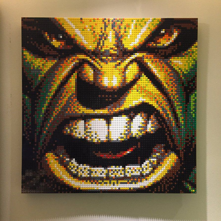 Hulk LEGO Mosaic by chef chad on DeviantArt   Lego Mosaic     Hulk LEGO Mosaic by chef chad on DeviantArt
