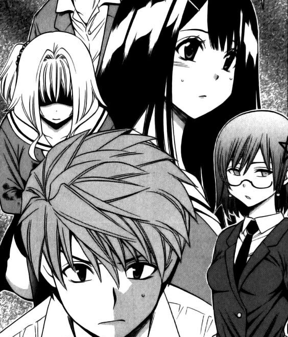 Corpse Party Another Child Mangacap Manga Corpse Party Anime