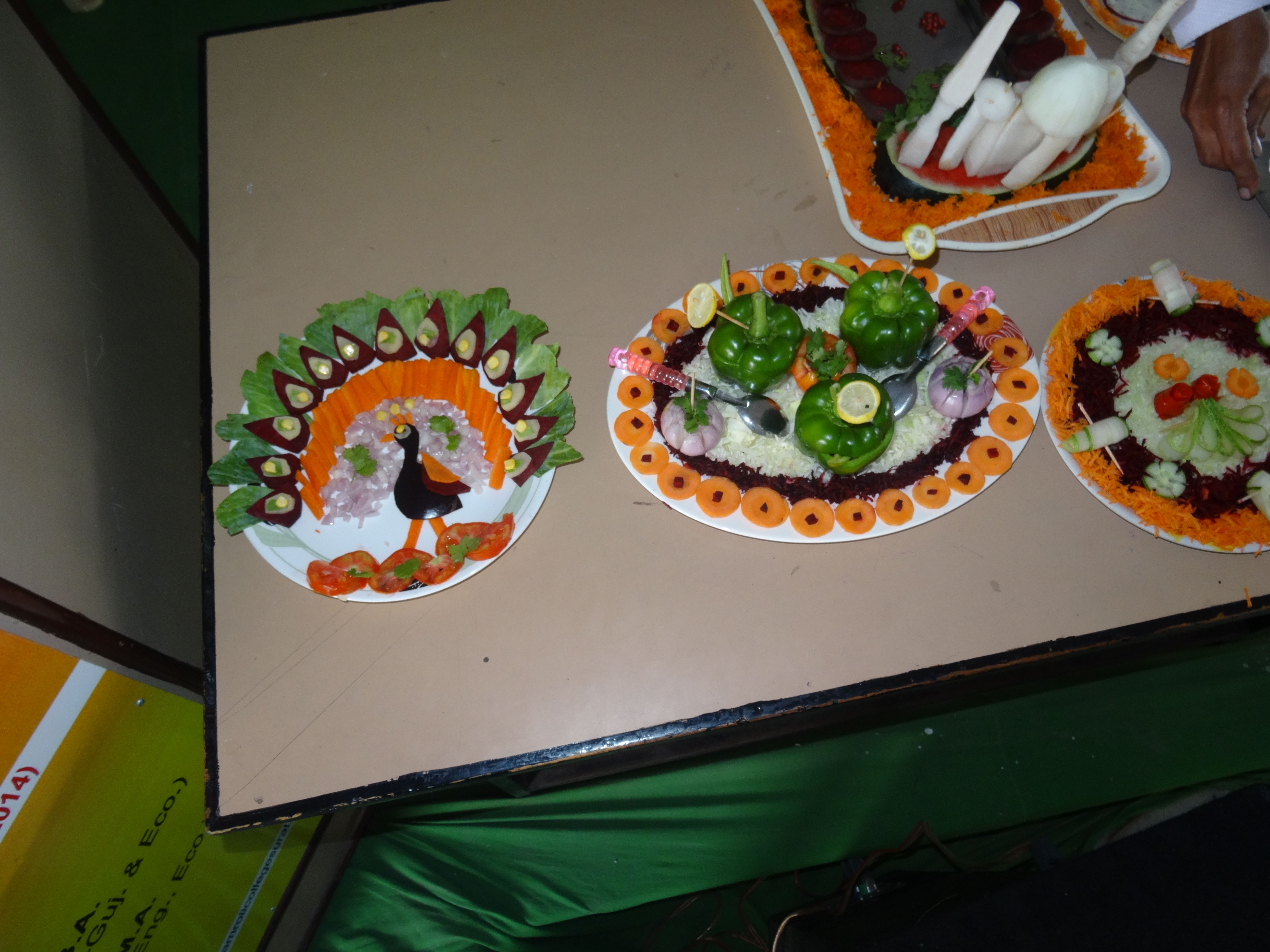 Inter College Salad Making Competition At Amroli College 21 07 2016