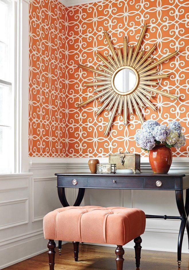 Empapela tu #casa de arriba a abajo: consejos para #decorar con papeles pintados #decoración #ideas #papeles