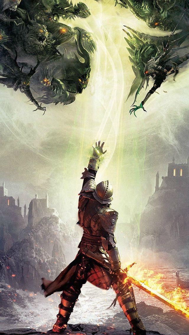 Dragon Age Inquisition Game Illust Art iPhone 5s