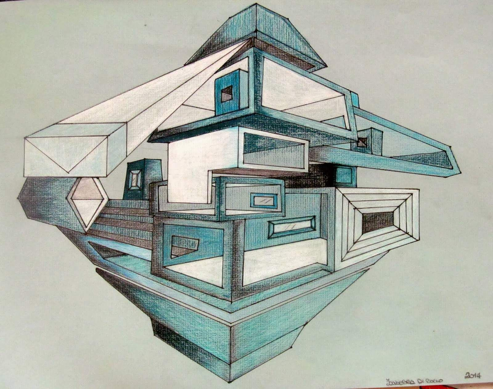 Architecture Drawing Wallpaper 2 point perspective drawing ideas - http://hdwallpaper/2