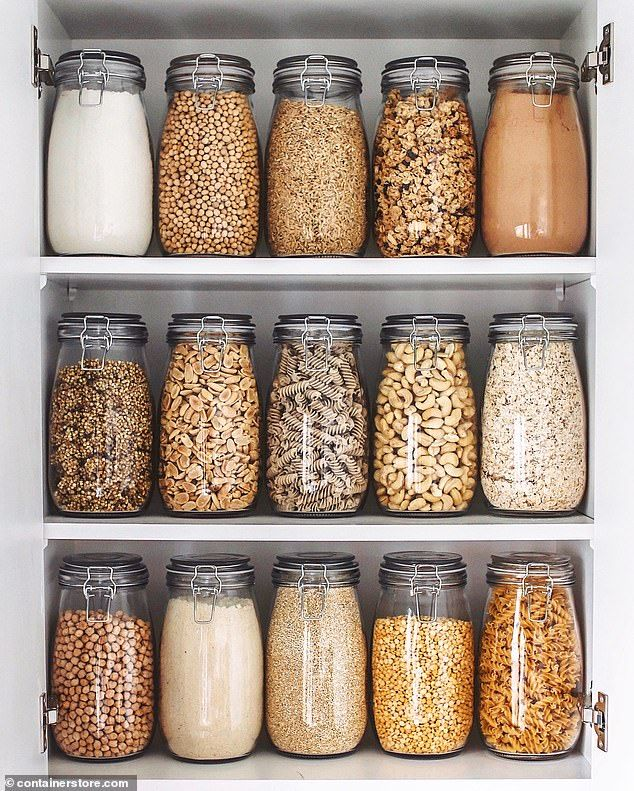 Shelf help for your kitchen