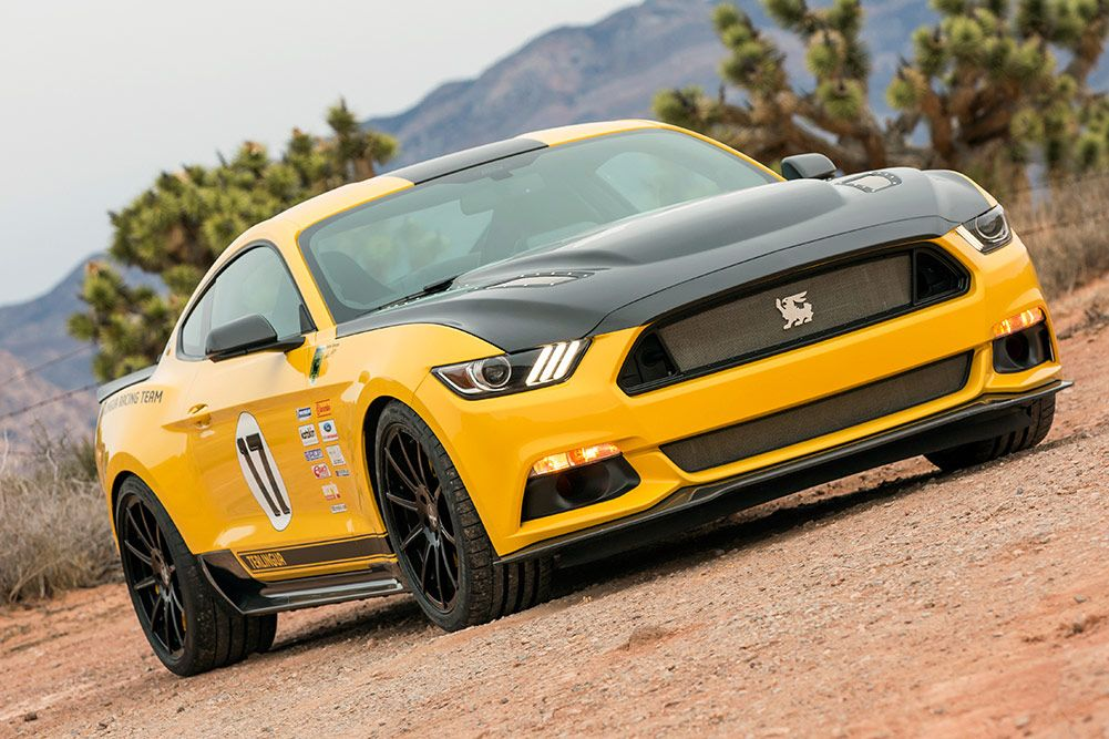 sondermodell: ford mustang shelby terlingua racing team | autos