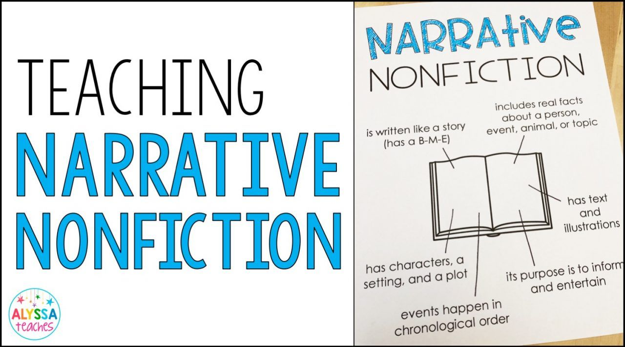 small resolution of format and author's purpose of narrative nonfiction. And there are so many  great options