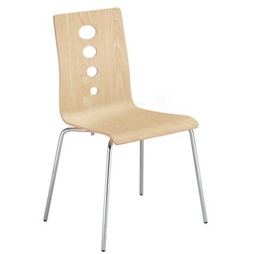 Armless Stackable Chair #modernchair | National Business Furniture