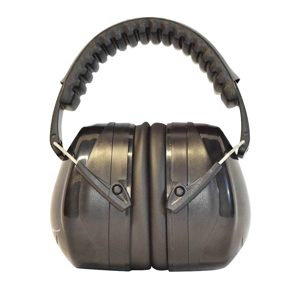 Hearing Protection Safety Earmuff Ear Defenders Work Shooting Adjustable Black