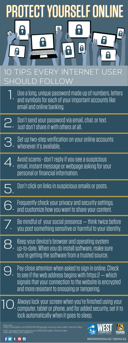 10 Tips Everyone Should Follow Cyber Security Awareness