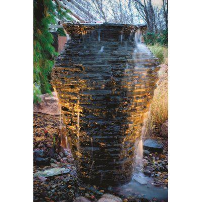 Aquascape Fiberglass Urn Fountain Water Features In The 400 x 300