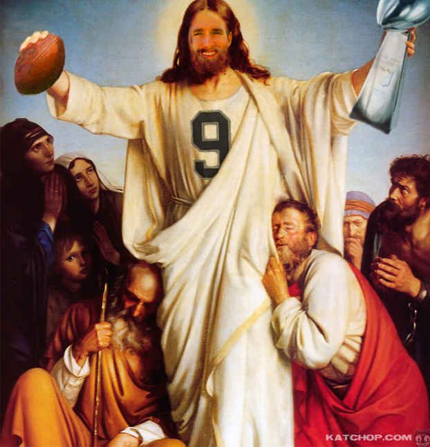 Breesus Christ Superstar. The Chosen One. In the Second Round. | Our 13 Favorite Fantasy Football Team Names Of 2013