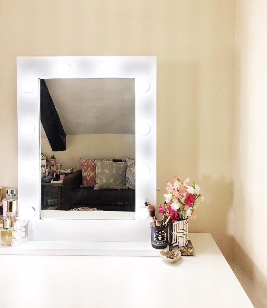 cherry lights scratch from light diy mirror with vanity hollywood my real tutorial style for