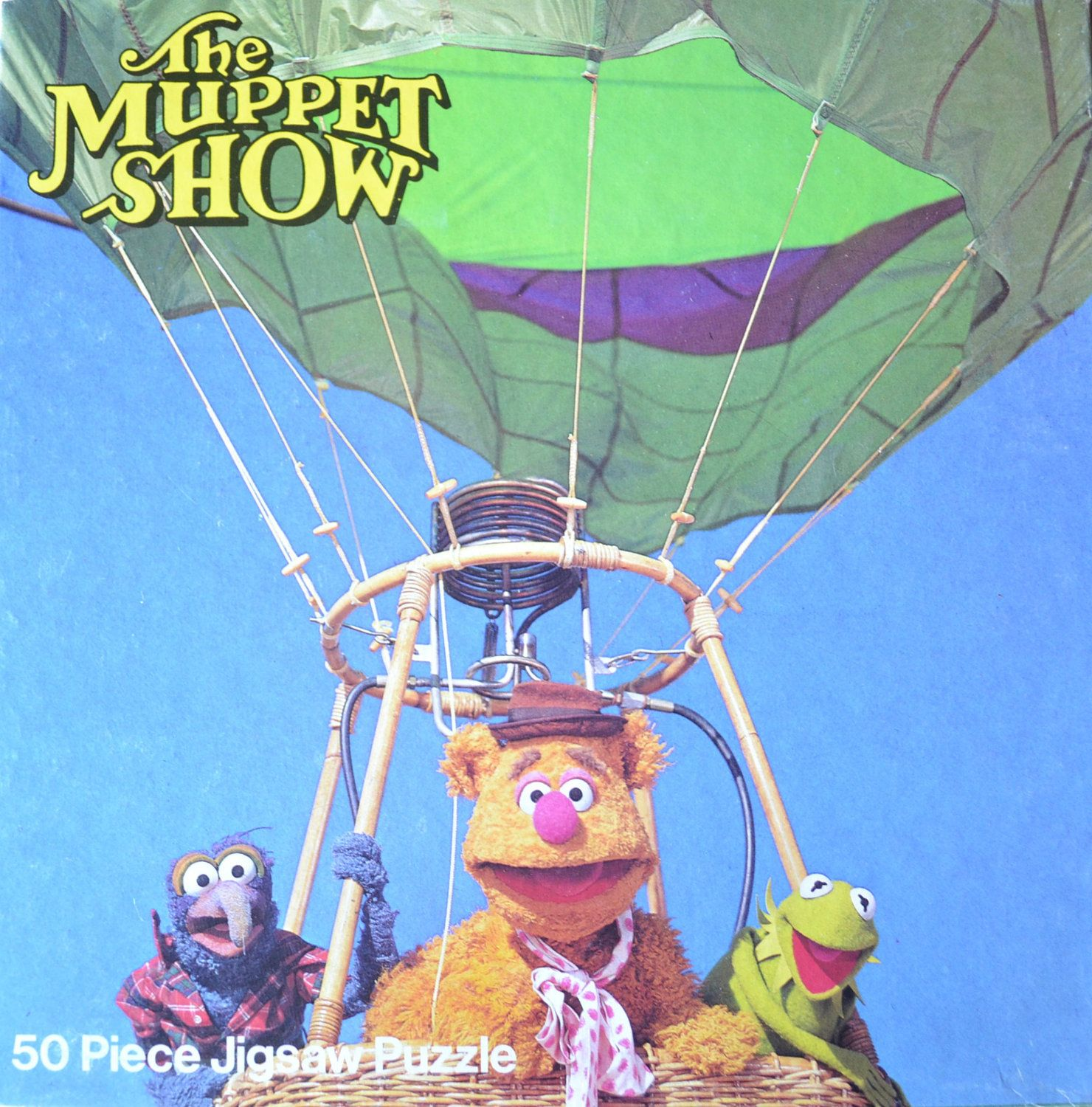 the muppet show 50 piece jigsaw puzzle 1981 3 50 via etsy
