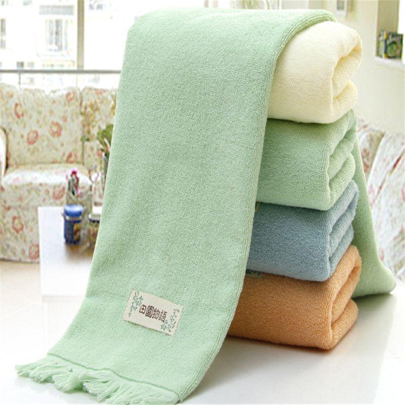 High Quality Soft Tassel 100 Cotton Towel Sets Bamboo Beach Bath