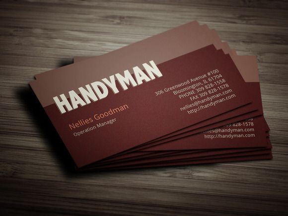 Handyman toolkit business card by layoutlet on creativework247 3d handyman toolkit business card by layoutlet on creativework247 free business card templates blank business accmission Gallery