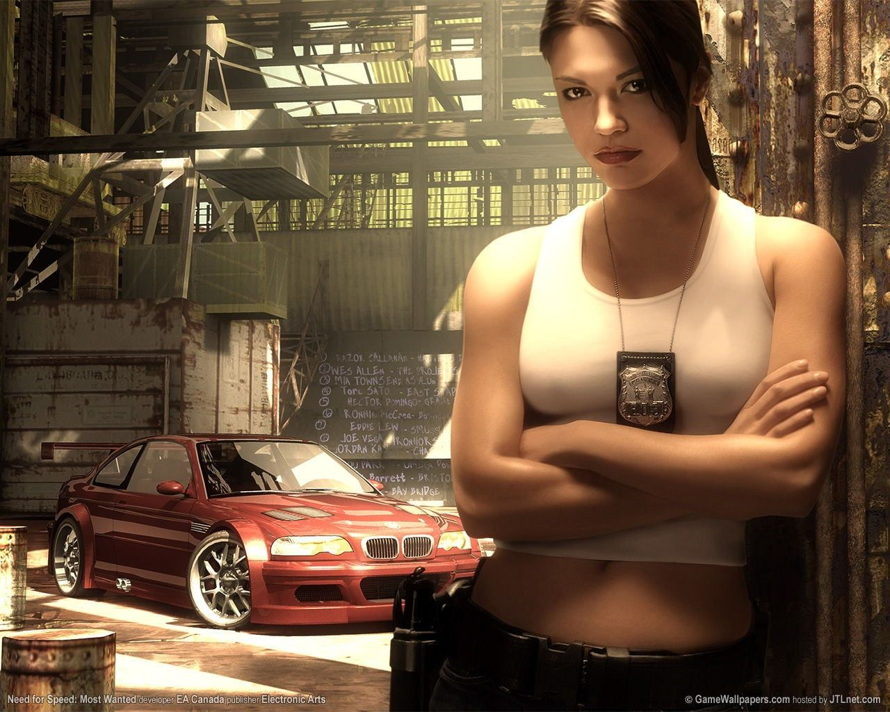 Women S White Crop Top Need For Speed Most Wanted Need For Speed 720p Wallpaper Hdwallpaper Need For Speed Undercover Need For Speed Need For Speed Movie