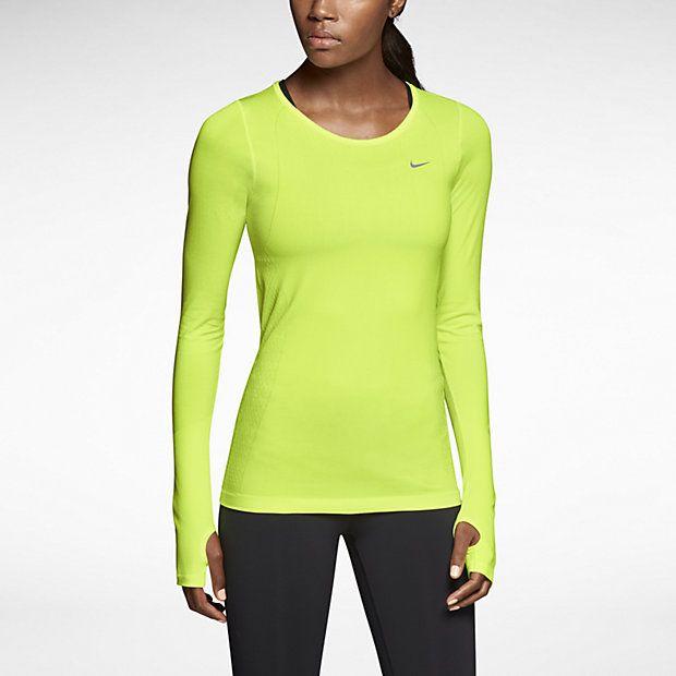 Nike Dri-Fit Knit Long-Sleeve (51,99 € en solde)