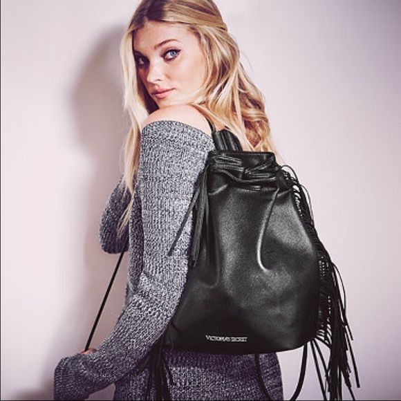 💥FINAL PRICE💥Limited Edition VS Fashion Show Bag Be an angel with this chic faux leather backpack. Limited edition, brand new with tags, and no longer available in stores! This is a great way to get into the 1970s trend! Retails for $85.🚫NO TRADES. PRICE IS FIRM. Victoria's Secret Bags Backpacks