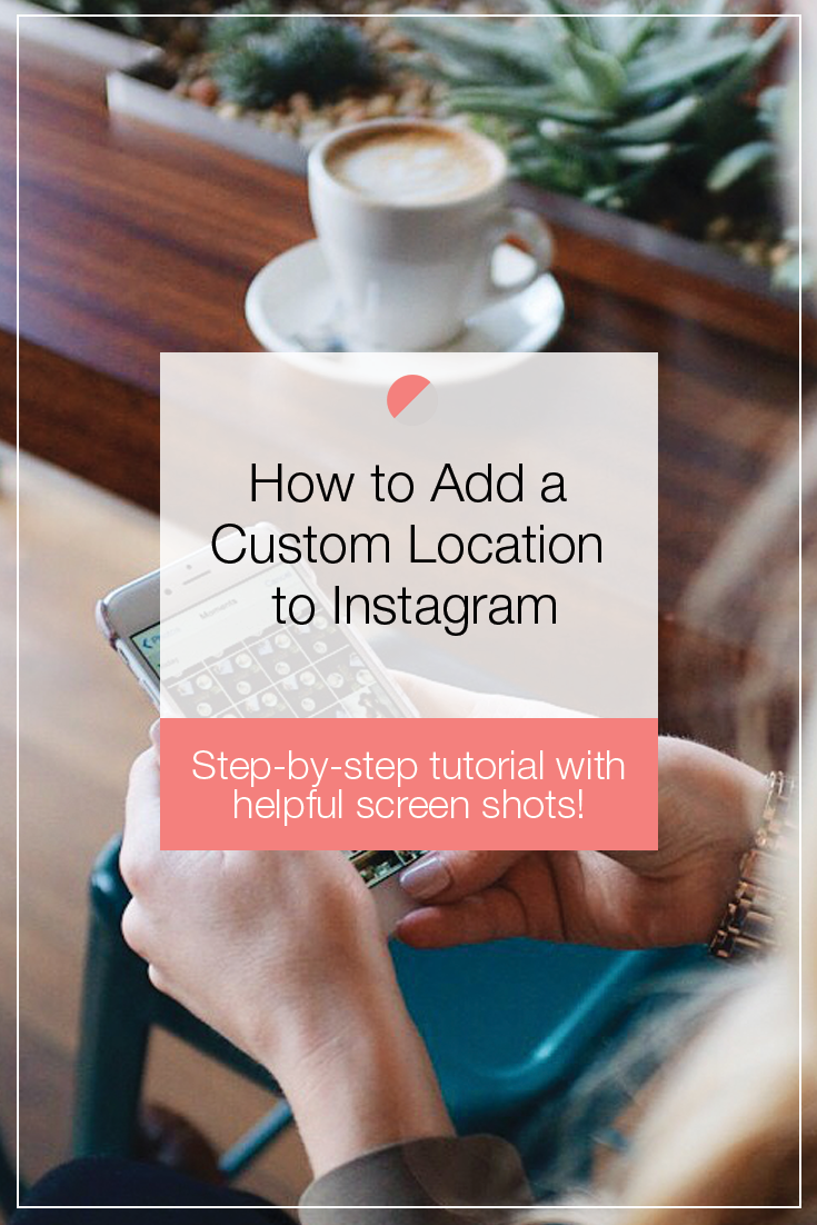 Ever wonder how you can add a custom location to your instagram ever wonder how you can add a custom location to your instagram posts well now ccuart Images