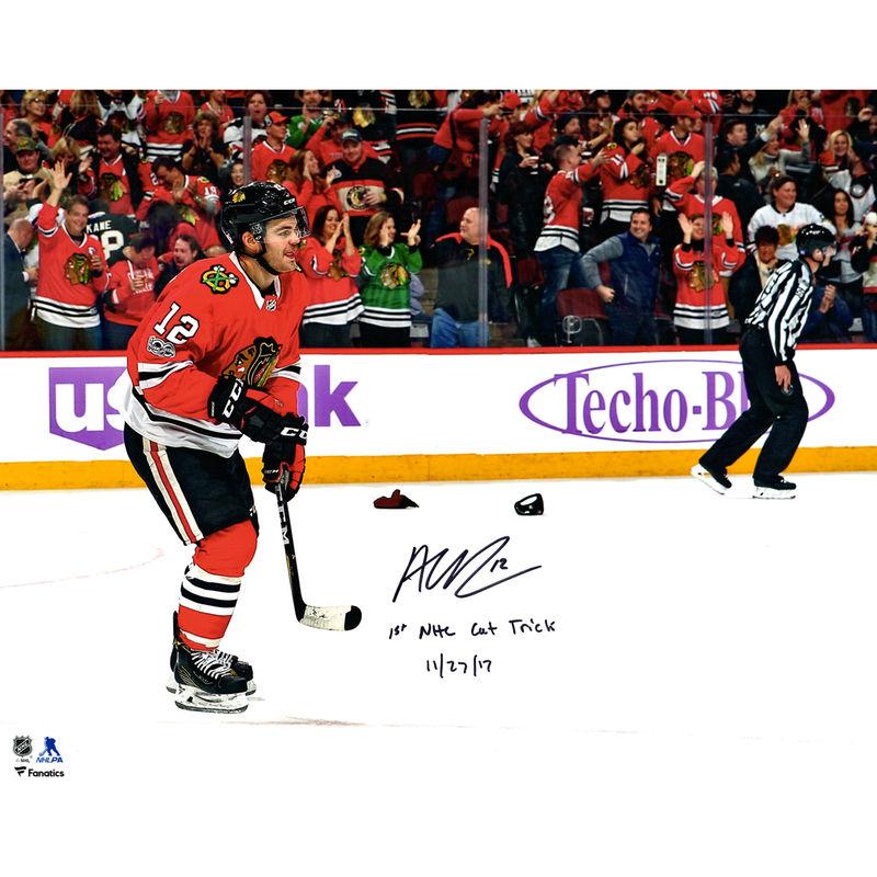 new product a8860 47d1c Alex DeBrincat Chicago Blackhawks Fanatics Authentic Autographed 16